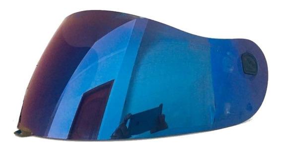 Viseira Capacete Peels Spike Azul Iridium Original