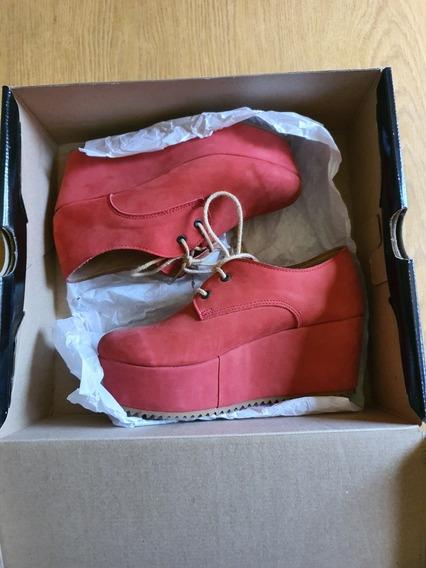 Zapatos Gamuzados 36