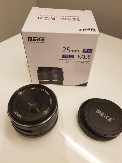 Lente Meike 25mm F/1.8 - Sony E-mount Aps-c