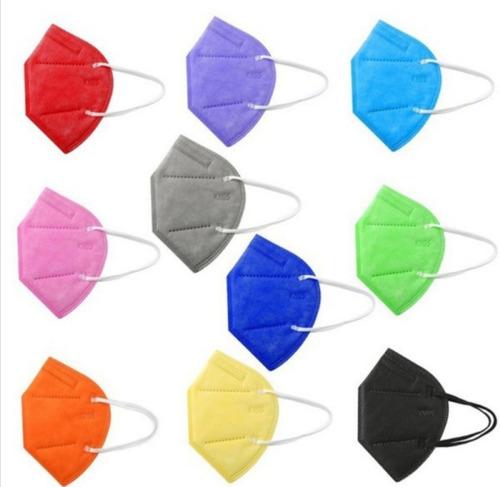 Imagen 1 de 3 de Mascarilla N95 X30 Colores Surtido - Unidad a $3000