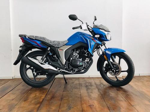 Haojue Dk Cbs 150cc 2021/2022 Azul 0km