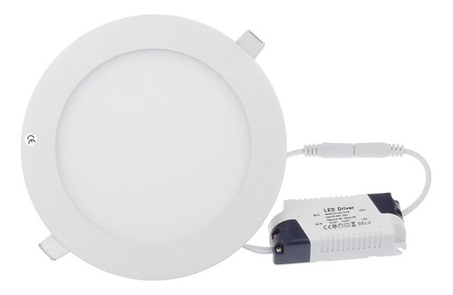 Lampara Led Panel 15w Empotrar Luz Blanca - 7$ Al Mayor