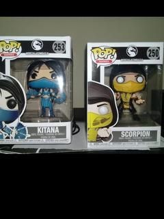 Funko Pop Scorpion #250 Kitana #253
