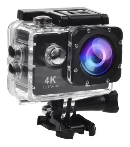 Câmera A Prova D'água 4k Full Hd Go Cam Ultra Pro Sport Ação
