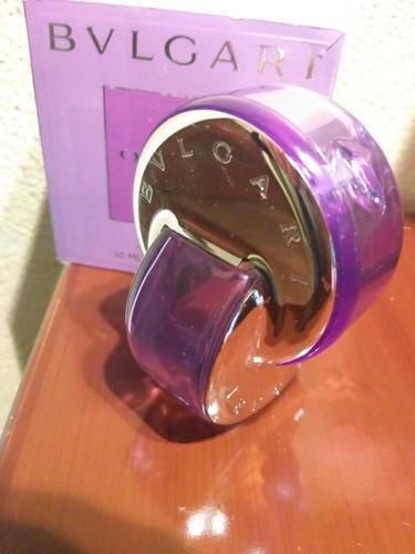 Perfume Bulgari Omnia Frasco Vacio Con Caja
