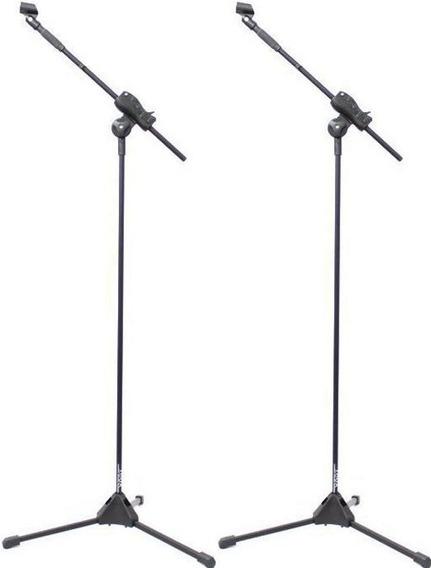 Pedestal De Microfone Ibox 1 Mic Cachimbo Smlight 2 Unidades