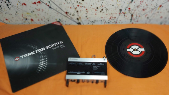 Traktor Audio 8 Interface, Vinil E Cd