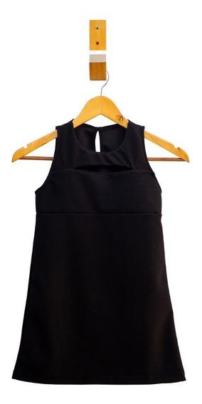 Vestido De Nena Para Salir Con Detalle En Espalda - Piedrap