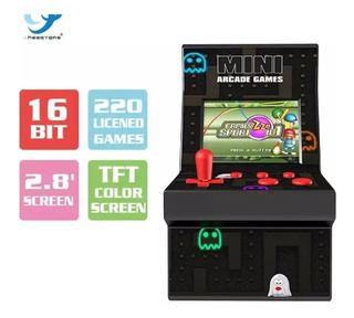 Mini Maquinita Arcade 220 Juegos