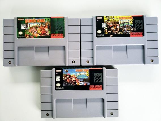 Donkey Kong Trilogia Original Snes