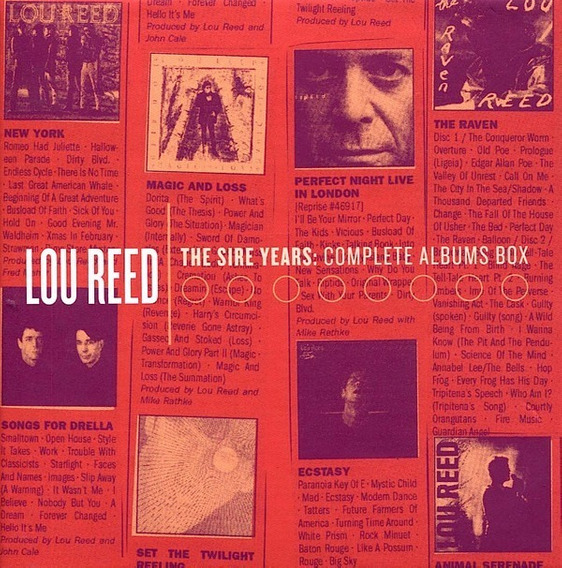 Lou Reed - The Sire Years: The Complete Albums Box - 10 Cds
