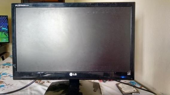 Monitor LG Defeito Na Tela + Cabo Hdmi / Dvi-d