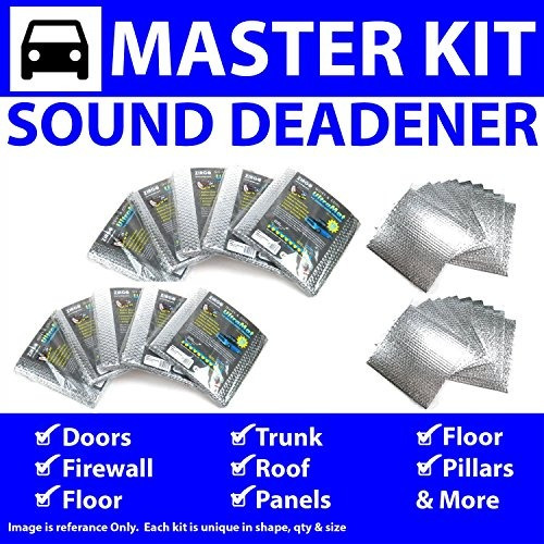 Zirgo 314966 Heat and Sound Deadener for 30-31 Model A ~ Master Kit