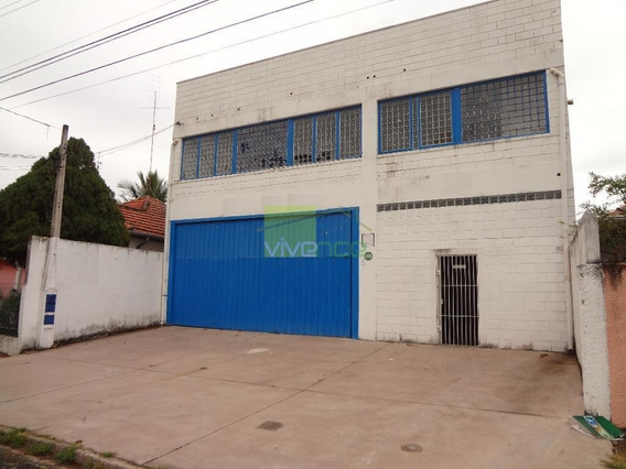 Barracão Comercial À Venda, Botafogo, Campinas. - Ba0017