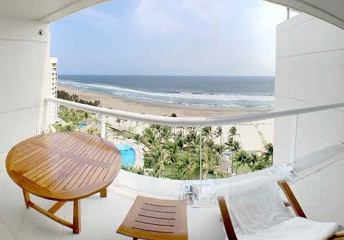 Cad Residencial Playamar 1002 De Playa, Terraza Vista Al Mar