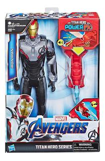 Muñeco Iron Man Avengers Titan Hero Series Original Hasbro