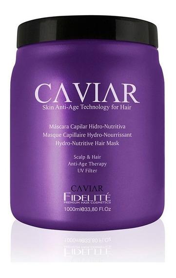 Mascara Hidro-nutritiva En Estuche Caviar - Fidelite X 1000g