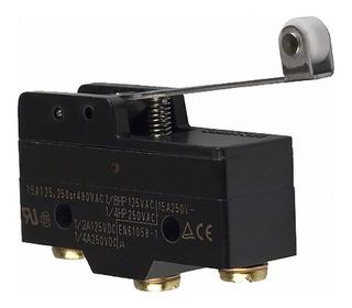 Chave Fim De Curso Micro Switch Z-15gw2-b Roldana 15a 250v