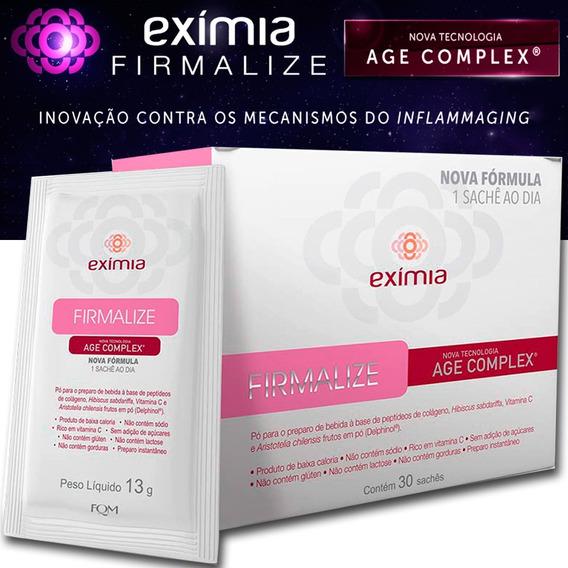 Eximia Firmalize Age Complex 30 Sachês - Sem Açúcar