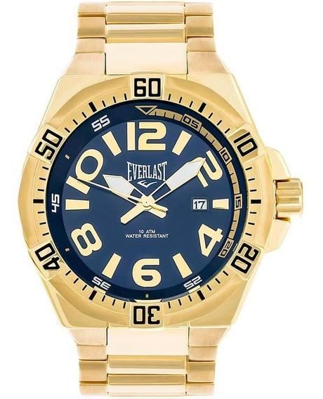 Relógio Analogo Everlast E633 Dourado