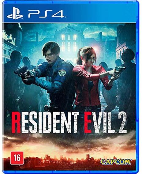 Playstation 4 Platina Resident Evil 2 Remake Playstation 4