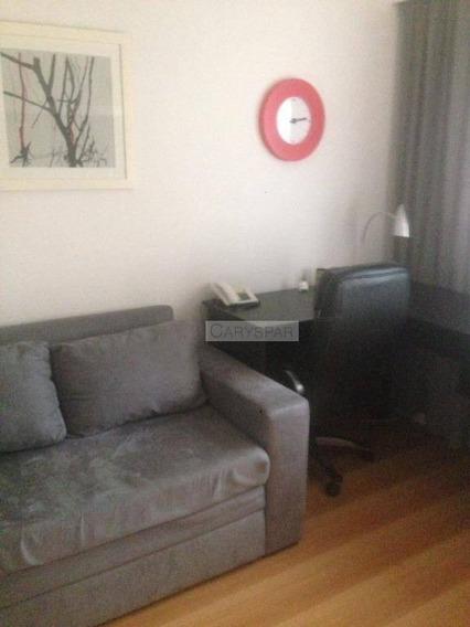 Flat Para Locação Em Moema - 01 Dormitório - Fl3655