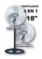 Ventilador 3 En 1 Oryx (pie, Turbo, Pared) Potente