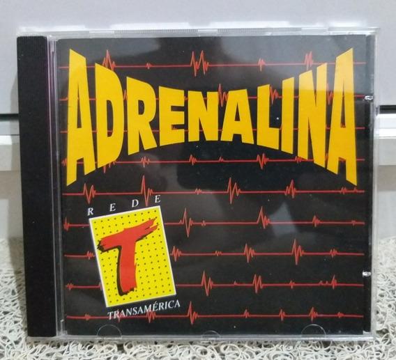 Cd Adrenalina Transamérica Semi Novo Excelente Estado :)