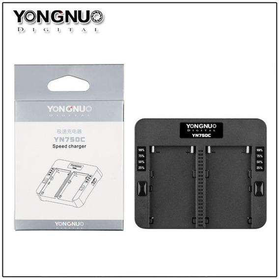 Carregador De Bateria Duplo Yongnuo Yn750c - F-750 Sony