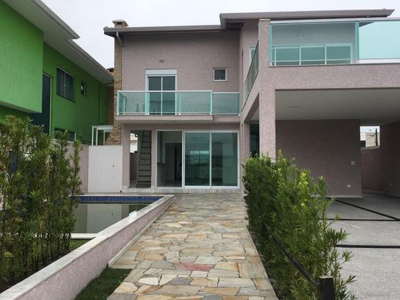 Casa Alto Padrão Com 4 Quartos Em Itanhaém/sp 6212-pc