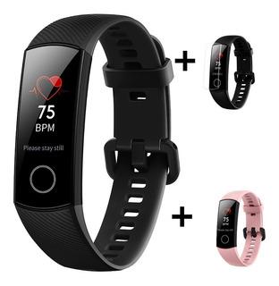Sport Band Huawei Honor 4 Smart Watch + Film + Malla Extra Patalla Amoled Nfc Cardio Ciclismo Natacion Monitor Sueño