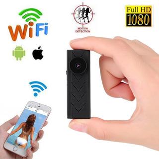 Ec Camara Espia/oculta Boton Wifi Hd 1080p C/detecc. Movimi.