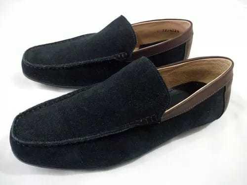 Zapatos Mocasines Azul Marino Únicamente Número #26