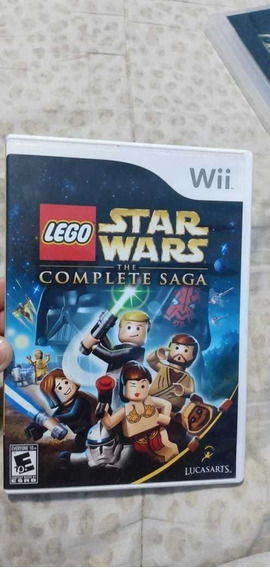 Lego Star Wars The Complete Saga Original Wii