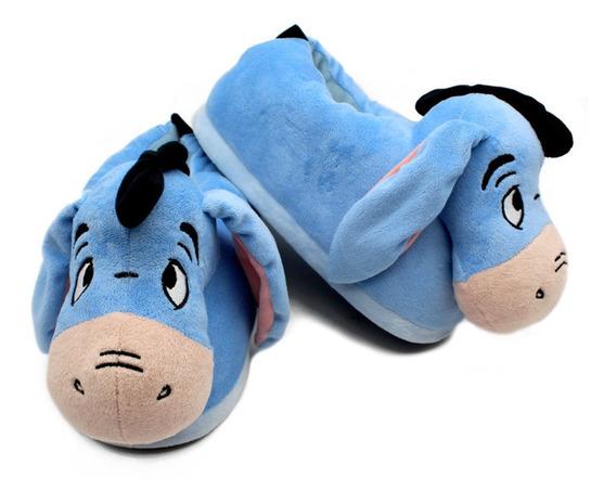 Pantufa Bisonho Ursinho Pooh Disney Solado Borracha P. M. G