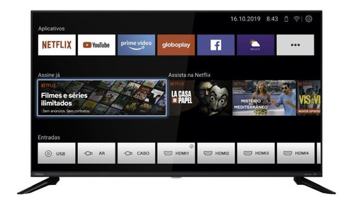 Smart Tv Philco 40 Polegadas Full Hd Ptv40g60snbl