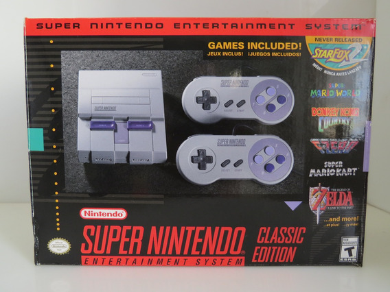 Snes Super Nintendo Classic Edition Mini Original Autentico