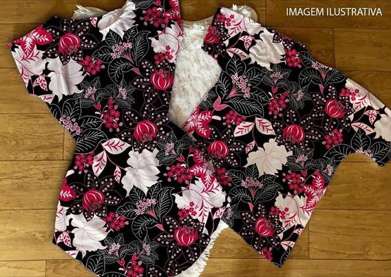 Kit Casal Conjunto Para Casal Vestido+camiseta Preto Floral