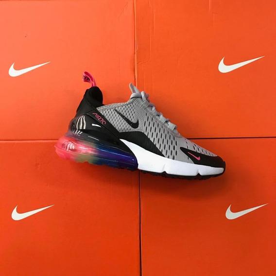 venta al por mayor Nike Air Max 270 Mujer Tenis Nike Gris en ...