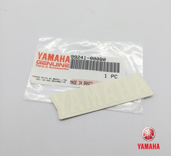 Emblema Adesivo Logo Yamaha Yzf-r1 / Yzf R6 Original