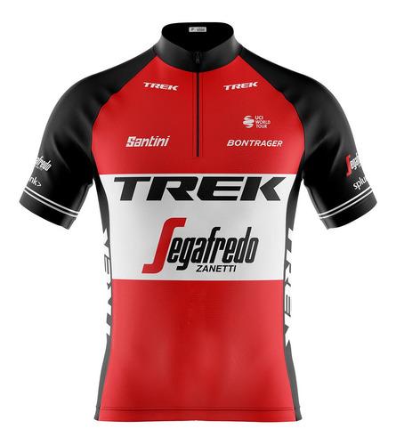 Imagem 1 de 8 de Camisa Ciclismo Trek Segafredo 2019 *12x S/juros*