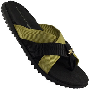 Chinelo Kenner Rhaco Spider Duo Gold Trançada