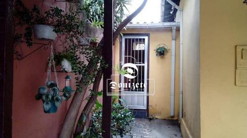 Casa Com 2 Dormitórios À Venda, 133 M² Por R$ 375.000,00 - Vila Floresta - Santo André/sp - Ca0714