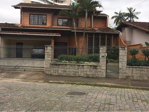 Casa No Atiradores Com 5 Quartos Para Venda, 352 M² - Lg4659