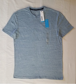 Playera Jaspeada Sonoma Flexwear Azul Cielo