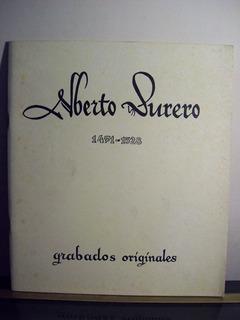 Adp Alberto Durero 1471-1528 Grabados Originales / 1971 Bsas
