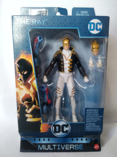 The Ray Baf Lex Luthor Dc Multiverse Mattel