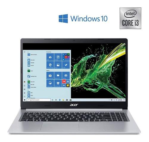 Imagen 1 de 4 de Notebook Acer Ci3-1005g1 4gb 1tb 15` Bt W10 A515-55-552k