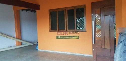 Imagem 1 de 30 de Casa Com 3 Dormitórios À Venda, 190 M² Por R$ 320.000 - Jardim Santa Tereza - Taubaté/sp - Ca6653