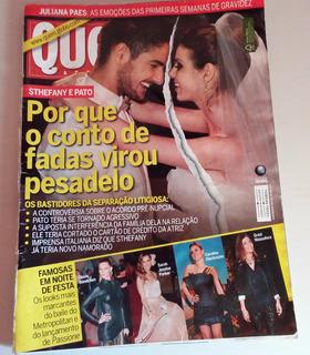 Revista Quem Acontece Nº 505 2010 Sthefany E Pato, Hebe